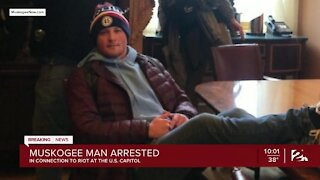 Muskogee man arrested in connection to riot at US Capitol