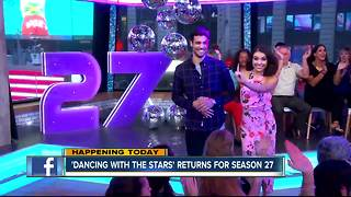 Dancing with the Stars premieres - Video