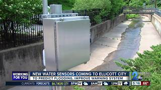 New sensors in Ellicott City could help county predict flooding - Video