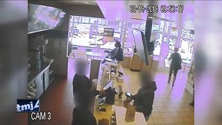 Suspect charged for attacking McDonald's employee - Video