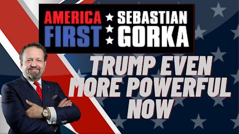 Trump even more powerful now. Sebastian Gorka reacts the second impeachment of Donald Trump