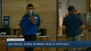 Increased travel worries health officials