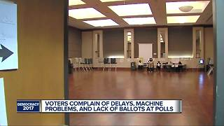Detroit voters seeing problems at the polls - Video