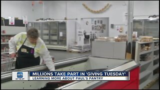 Paul's Pantry recognizes Giving Tuesday