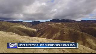 City of Boise proposes foothills land purchase near Stack Rock - Video