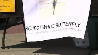 'Project White Butterfly' provides Narcan, testing strips, education in neighborhoods ravaged by drugs