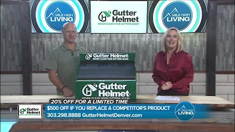 Don't Clean Your Gutters Until You See This! // Gutter Helmet