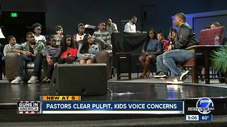 Colorado Pastors clear pulpit, allow students to address gun violence - Video