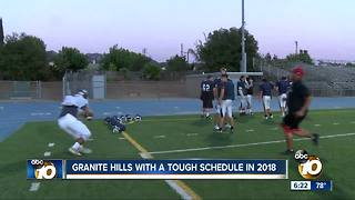 Pro Treatment: Granite Hills with a tough schedule in 2018 - Video