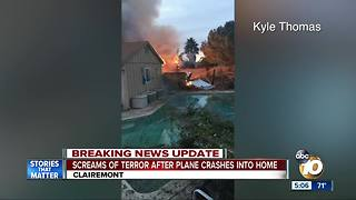 Neighbors shaken up after deadly plane crash - Video