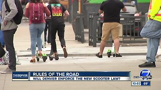 City council members vote to remove scooters from Denver sidewalks