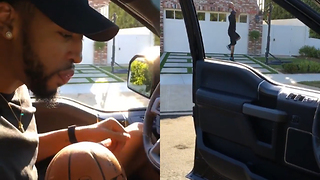 Anthony Davis Does the Drive-By Dunk Challenge - Video