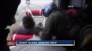 Milwaukee Coast Guard pitching in to help with Harvey rescue efforts - Video