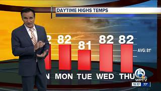 Saturday night weathercast 11pm - Video