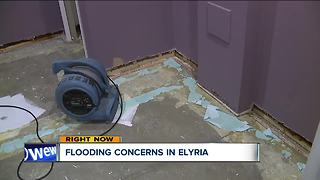 Flooding concerns in Elyria