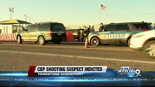 Elderly man wounded in shootout with border agents charged - Video