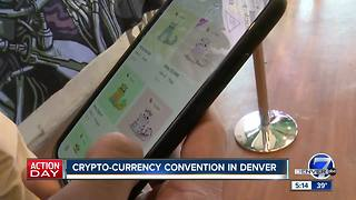 Crypto-currency convention in Denver - Video