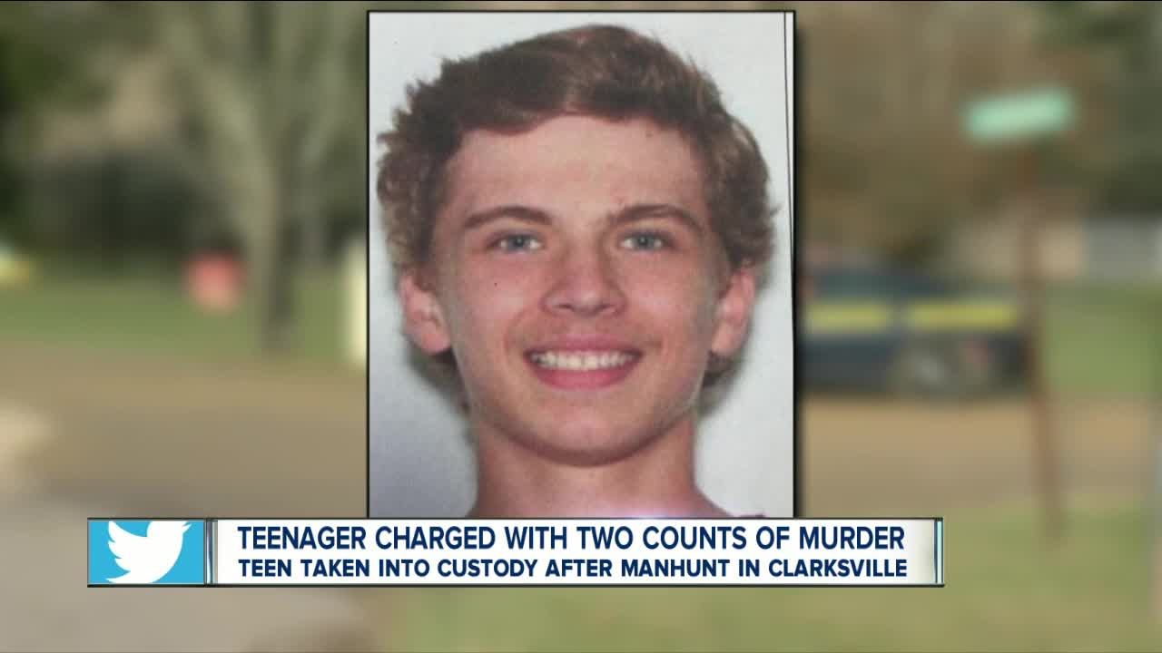 Teenager charged with double murder in Allegany County