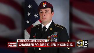 Chandler soldier dies while serving overseas in Somalia - Video