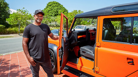 Hot Wheels Fan Builds Ultimate Land Rover Defender | RIDICULOUS RIDES
