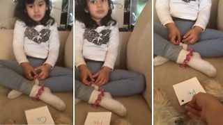 Incredible little girl recites entire periodic table of element at just four