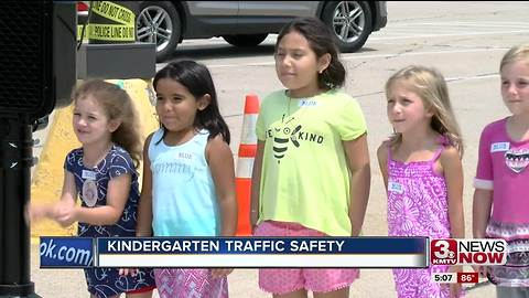 Kindergarten traffic safety