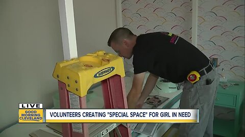 Cleveland non-profit gives home makeover to North Royalton girl battling serious health conditions