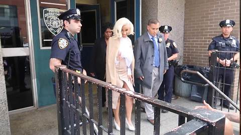 Cardi B Caused Chaos In NYC When Leaving Police Station, Charged With Two Misdemeanors