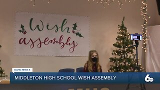 Middleton High School hosts annual Wish assembly — with a twist.