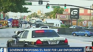 Governor proposing 5% pay raise for law enforcement in Florida - Video