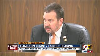 Hamilton County budget hearing - Video