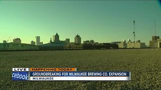 Milwaukee Brewing Company set to break ground on third brewery - Video