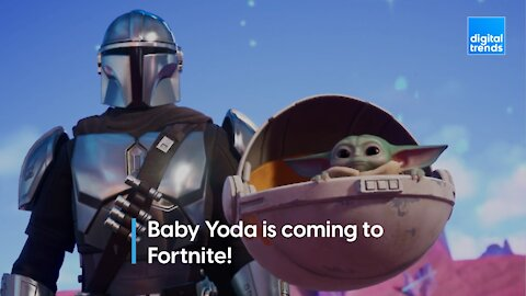 Baby Yoda is coming to Fortnite!