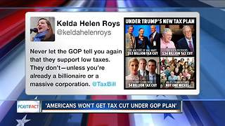 PolitiFact: Americans won't get tax cut under GOP plan - Video