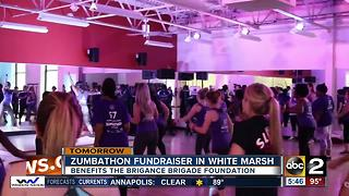 Merritt Clubs hosts Zumbathon to raise money for the Brigance Brigade Foundation - Video