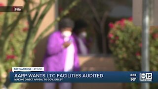 AARP calling for audit of long-term care facilities in Arizona