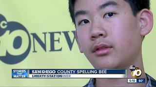 San Diego County Spelling Bee - Video
