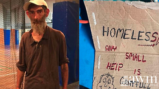 Kind-Hearted Student Helps Homeless Man Undergo Unreal Transformation - Video