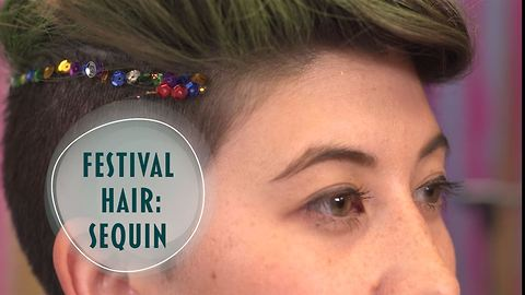 Short hair don't care: festival look for epic undercuts