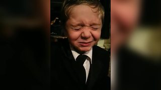 Young Boy Tries A Warhead Candy For The First Time