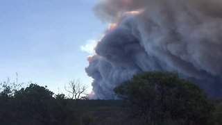 Smoke Blankets Chico as Camp Fire Spreads - Video