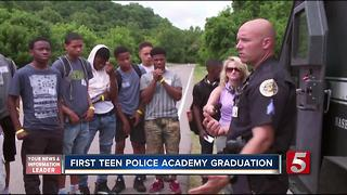 Teens Graduate From Citizens Police Academy - Video