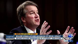 Boulder woman accuses Kavanaugh of sexual assault - Video