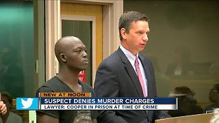 Suspect denies murder charges - Video