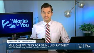 Does social security, disability affect stimulus payment?