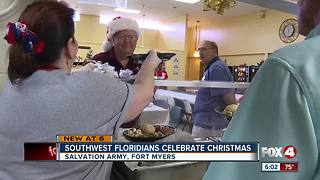 Homeless find hope in Salvation Army Christmas meals - Video