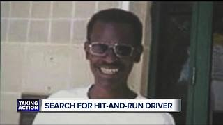 Search for hit-and-run driver in Detroit