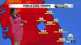 South Florida Thursday afternoon forecast (6/21/18) - Video