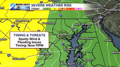 Severe Weather This Evening