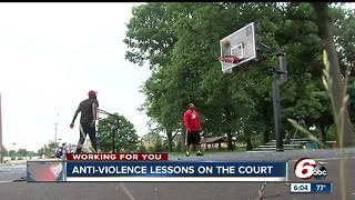 Teacher using summer to help counsel teens about the dangers of violence and how to avoid it - Video